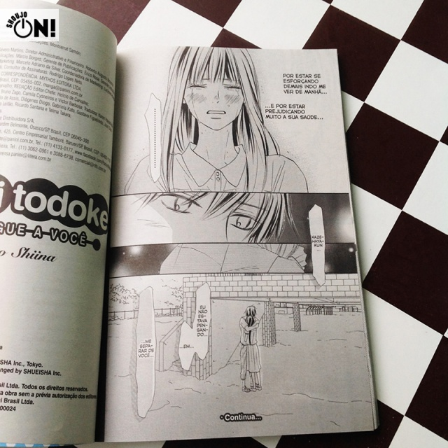 Kimi Ni Todoke Volume 25 Panini (15)