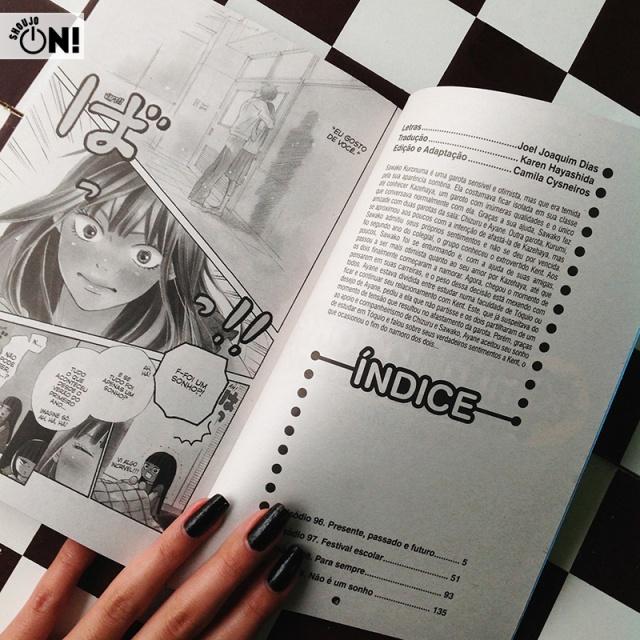 Kimi Ni Todoke Volume 25 Panini (3)
