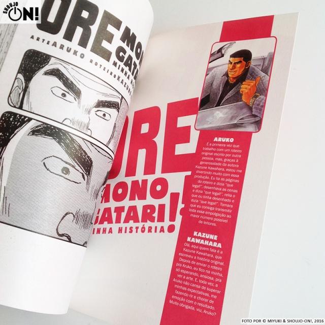 Ore Monogatari Volume 1 Resenha Panini Mangá ARUKO Kazune Kawahara Review (2)